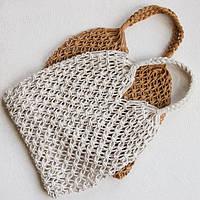 Плетеная сумка Wind / Авоська, сумка-авоська, авоськи оптом, сумка для продуктов, фото 1