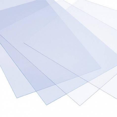 Пластик для моделирования прозрачный. Толщина пластика 0.5 мм. 1 шт. Размер 210мм х 297мм ., фото 2