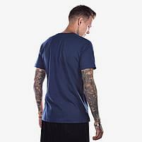 Футболка мужская RAPH синяя, фото 2