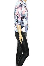 Блузка-сорочка на ґудзиках Purezza, фото 3