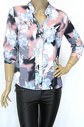 Блузка-сорочка на ґудзиках Purezza