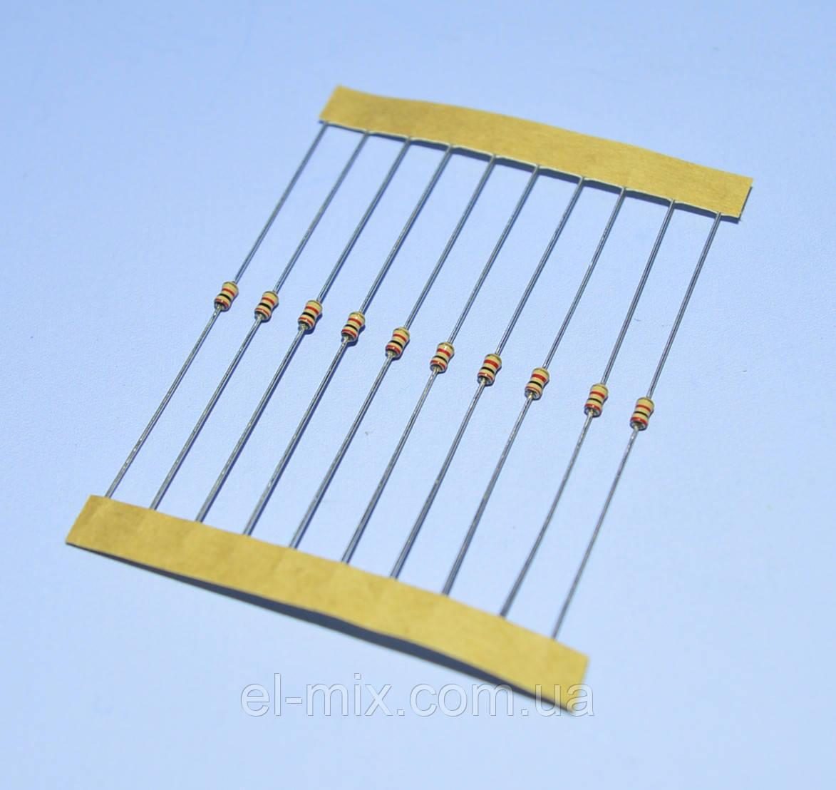 Резистор  0,125Вт  300 Om 5% CFR (1,9х3,5мм), лента  Royal Ohm