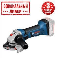 Аккумуляторная угловая шлифмашина Bosch GWS 18-125 V-LI (каркас)
