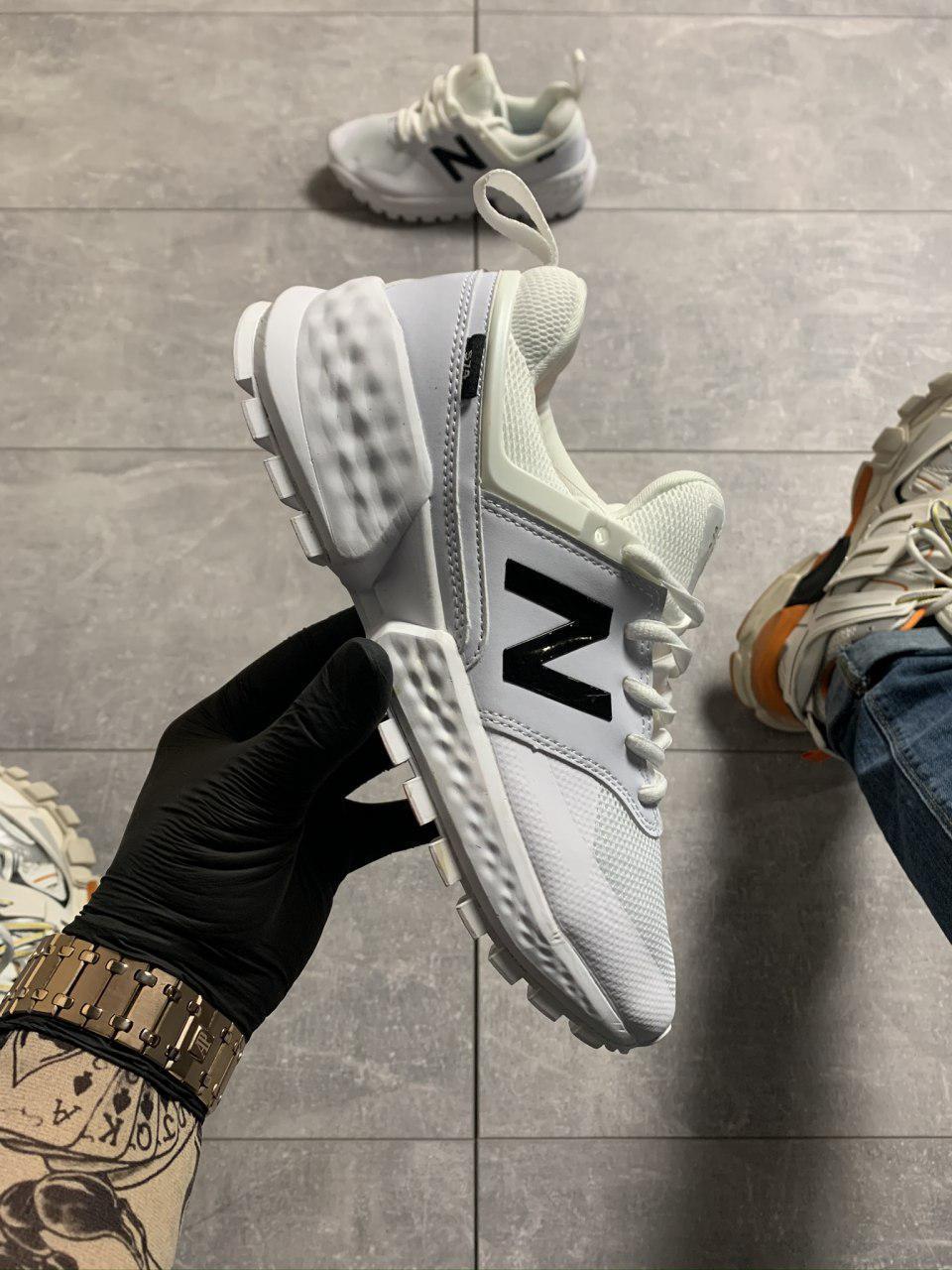 Женские кроссовки New Balance 574 White Black