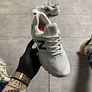 Женские кроссовки New Balance 574 White Black, фото 3