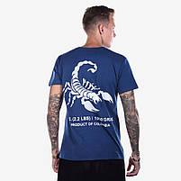 Футболка мужская KILO синяя, фото 2