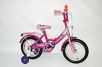 """Дитячий велосипед Veloz 14"""" рожевий, фото 1"""