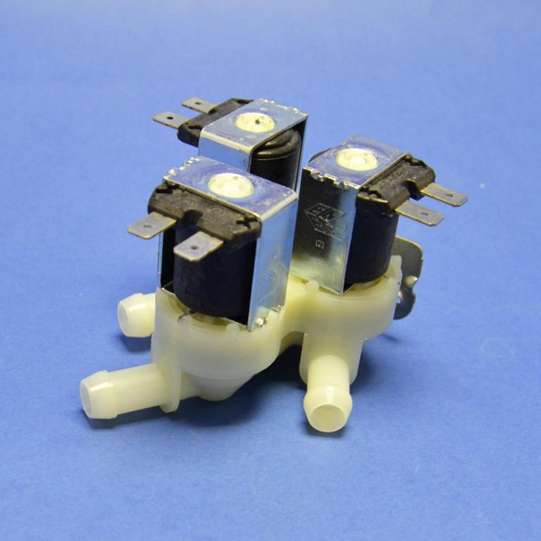 Клапан подачи воды 3/180 для стиральной машины универсальный