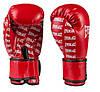 Боксерские перчатки в стиле EVERLAST DX матовые красные EV2218  размер 12 унц., фото 3