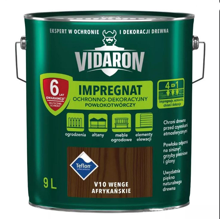Імпрегнат древкорн V07 Vidaron каліфорн. секвоя 9л