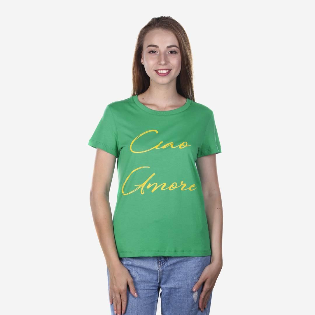 Футболка женская CIAO зеленая