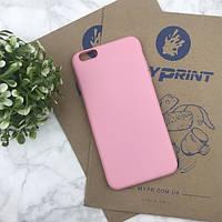 Чехол силиконовый для iPhone 6/6S PLUS розовый (4473)