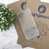 Чехол силиконовый для iPhone 6/6S белый (4477)