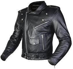 Мотокуртка кожаная Ozone Ramones (Black)