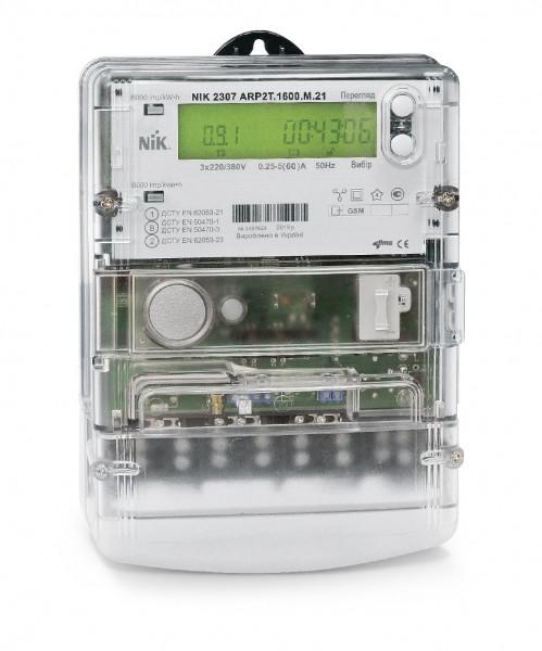 Электросчетчик  NIK 2307 ARTT.1600.MC.21 5(10)А с GPRS