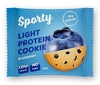 Протеиновое печеньеSporty Protein Light Черника (40 грамм)
