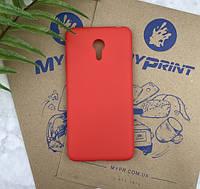 Чехол силиконовый для Meizu M3 Note красный (5739)