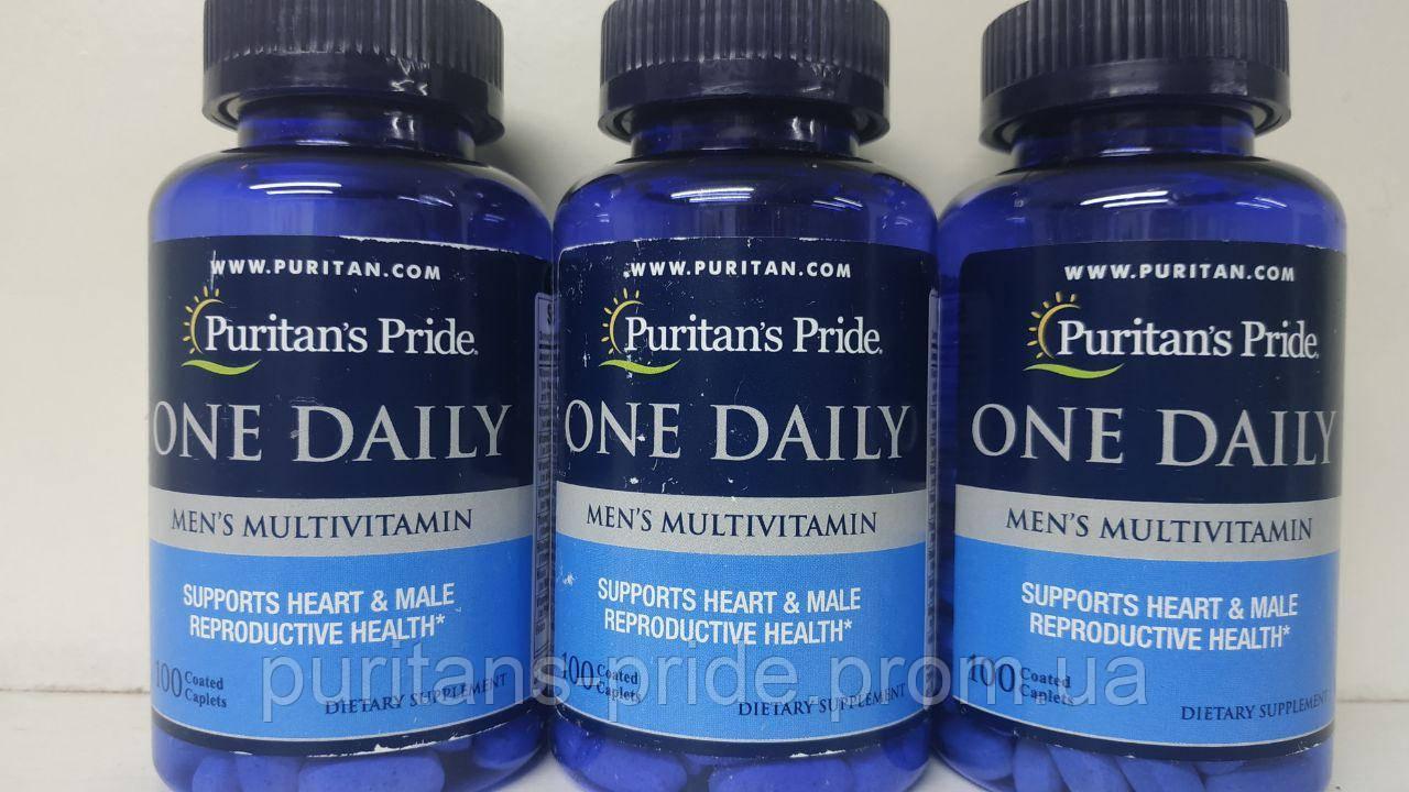 Вітаміни для чоловіків, Puritan's Pride One Daily men's 100 Caplets