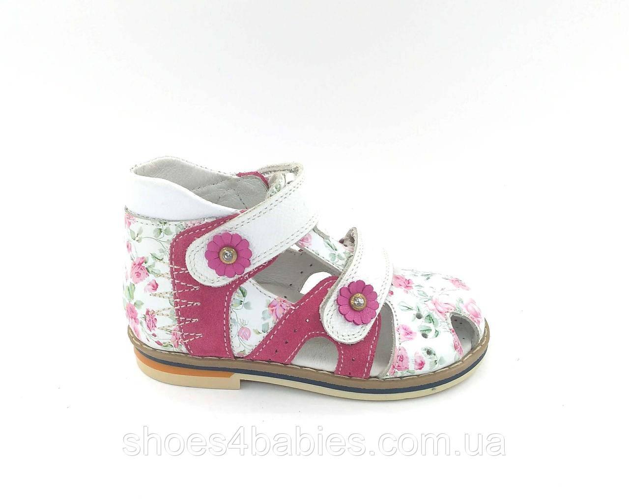 Босоніжки, сандалі, профілактичні, ТМ FS, для дівчинки, р. 23 - 15,5 см