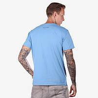 Футболка мужская NOLOGO голубая, фото 2