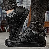 Кроссовки женские кожаные Найк Nike Air черные
