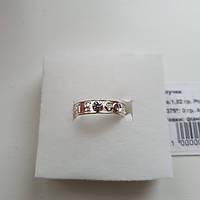 Серебряное охранное кольцо с камнем Спаси и Сохрани, фото 1