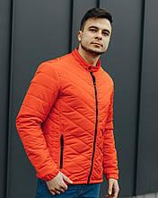 Демисезонная куртка мужская стеганная р - ры S - XХL