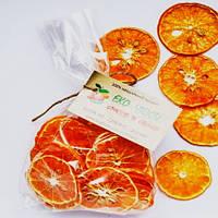 Фруктовые мандариновые чипсы 50 грамм, замена 450-500 г свежих мандарин, фото 1
