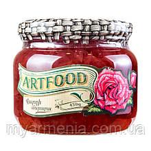 """Вірменське Варення """"ArtFood"""" 450г з пелюсток троянди"""