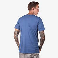 Футболка мужская ROAD синяя, фото 2
