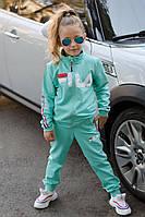 Детский спортивный трикотажный костюм Филa ментол