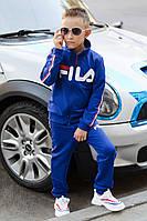 Детский спортивный трикотажный костюм Филa индиго