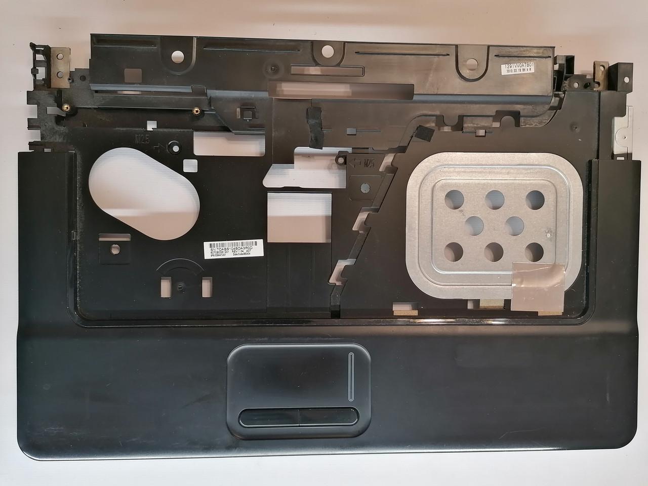 Б/У корпус крышка клавиатуры (топкейс) для HP Compaq 615, 610 (538447-001 / 6070b0351201)