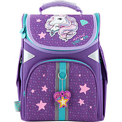 Рюкзак школьный каркасный GoPack Education Unicorn dream go20-5001s-1