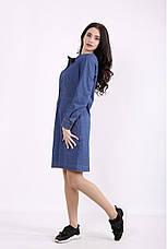 Платье женское джинсовое размеры:42-74, фото 3