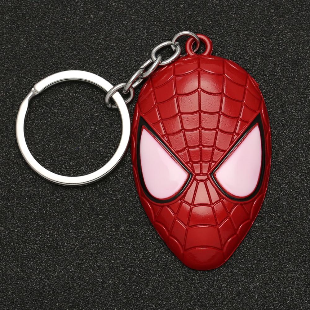 "Брелок ""Людина павук"", металевий, супергерої, Брелок ""Маска Спайдермена"""