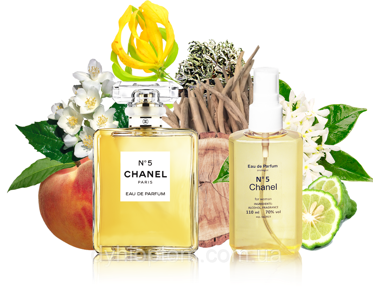 Аналог жіночого парфуму N5 110ml в пластиці