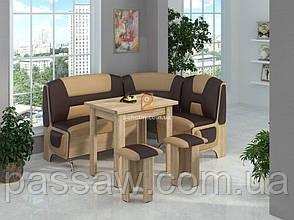 Кухонный уголок с раскладным столом Спартак