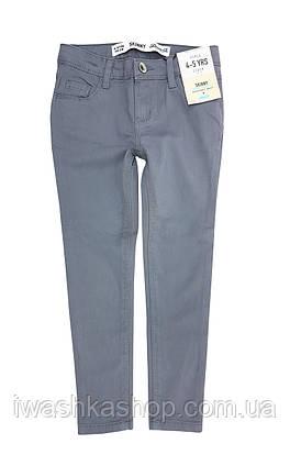 Сірі джинси скінні на дівчинку 4 - 5 років, розмір 110, Primark / Denim Co