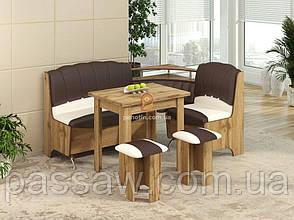 Кухонный уголок с раскладным столом Магнат