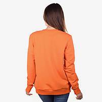 Свитшот женский COLORS оранжевый, фото 2