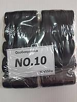 Нитки швейные № 10 (Особо прочные) Черные