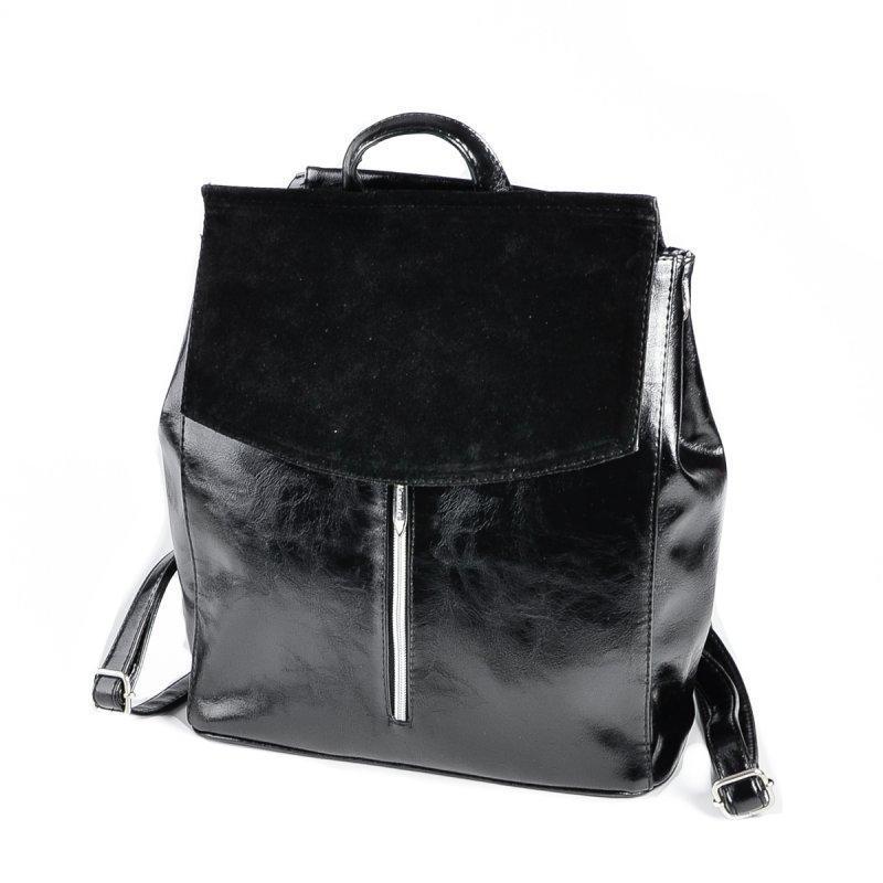 Черный женский рюкзак код 25-173