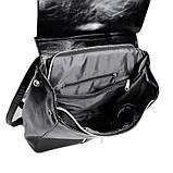 Черный женский рюкзак код 25-173, фото 4