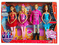 Набор кукол Барби Балерина в розовых пуантах Barbie in the Pink Shoes Dancing Stage Mattel BBM01, фото 1