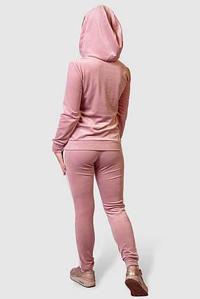 Женский велюровый костюм Casual Style, фото 2