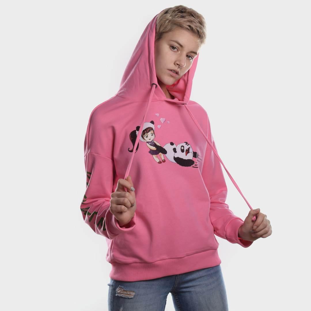 Батник женский PLAY WITH ME розовый