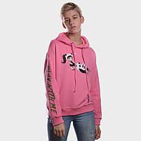 Батник женский PLAY WITH ME розовый, фото 2