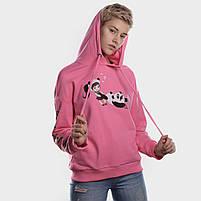 Батник женский PLAY WITH ME розовый, фото 4