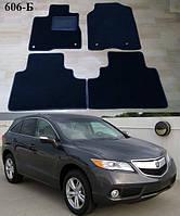 Коврики на Acura RDX '12-18. Текстильные автоковрики